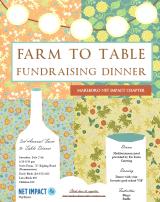 3rd Annual Farm to TableDinner